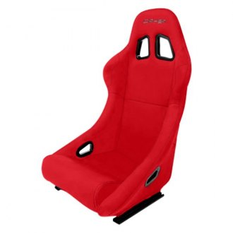 Cipher® - CPA1005 Red Cloth Full Bucket Non Reclineable Racing Seat