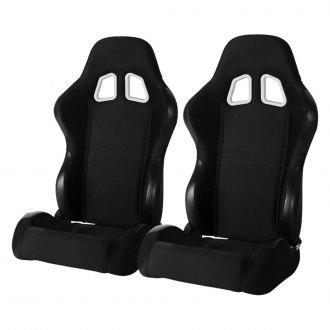 Cipher® - CPA1007 Series Black Cloth Racing Seats