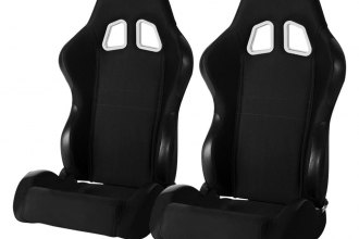 Cipher® CPA1007FBK - CPA1007 Series Black Cloth Racing Seats