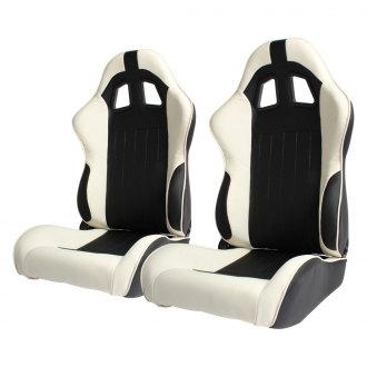 Cipher Auto® - CPA1009 Series Reclining Steel Tubular Frame Racing Seats