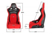 Image may not reflect your exact vehicle! Cipher® - CPA2002 Viper Series Racing Seats