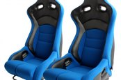 Cipher® - CPA2002 Viper Series Blue Cloth with Carbon Fiber Racing Seats