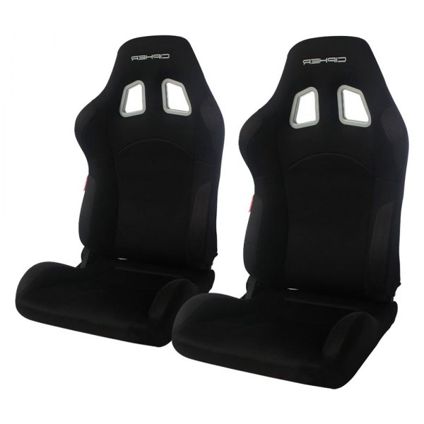Cipher® - CPA2007 M-8 Series Black Cloth with Anti Slip Inserts Racing Seats