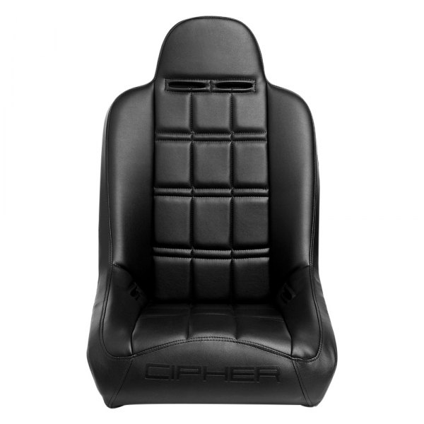 Cipher® - CPA3003 Series Black Leatherette Bucket Suspension Seat