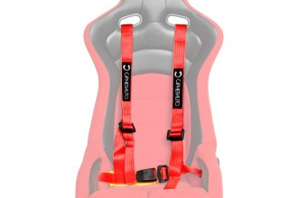 Cipher® CPA4002RD - Red 4-Point Racing Harness Set