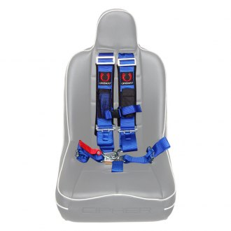 Cipher Auto® - 5 Point Harness Set, Blue