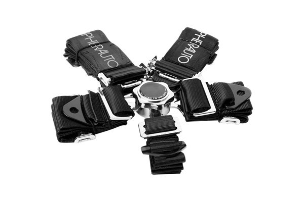 Cipher® - Black 5-Point Quick Release Racing Harness