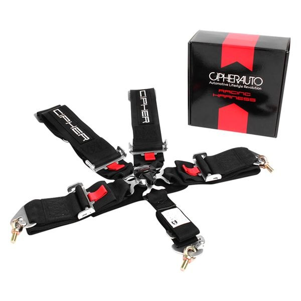Cipher Auto® - 5 Points SFI 16.1 Certified Racing Harness