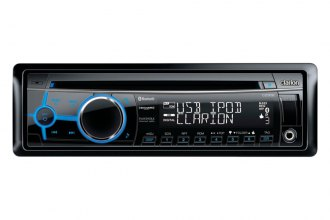 Clarion® - Single DIN In-Dash CD Receiver with Front USB Port, Bluetooth and SiriusXM(TM)Ready