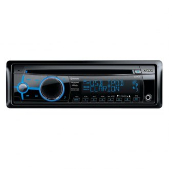 Clarion® - Single DIN In-Dash CD Receiver with Rear USB Port, Bluetooth and SiriusXM(TM)Ready
