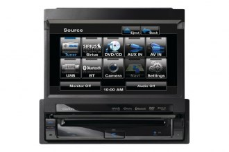 "Clarion® - 7"" Single DIN In-Dash Multimedia Receiver with Bluetooth"