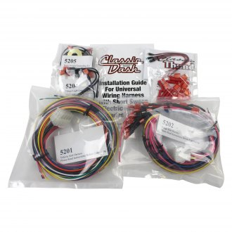 Classic Dash® - Wiring Harness Complete with LED Kit