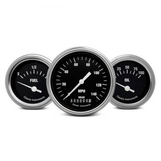 Classic Instruments® - Hot Rod Series Gauge Sets