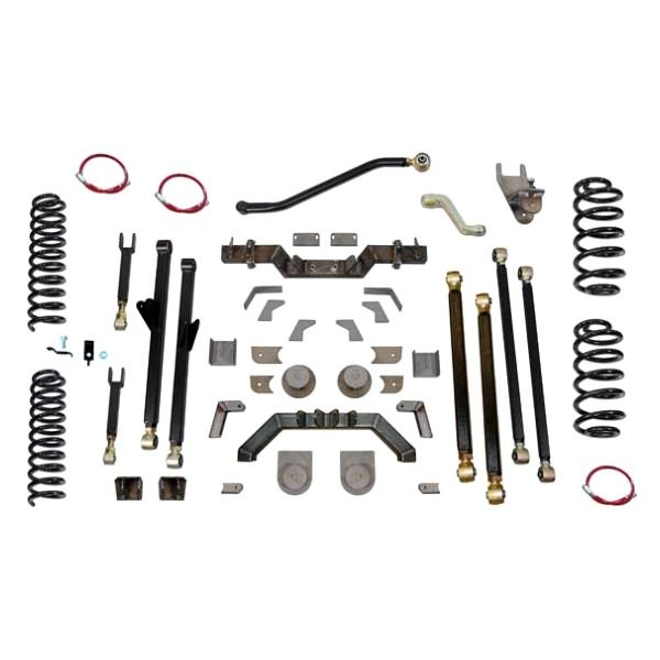 "Clayton Off Road® - 5.5"" Long Arm Stretch Lift Kit with Rear 7"" Double Triangulated Stretch"