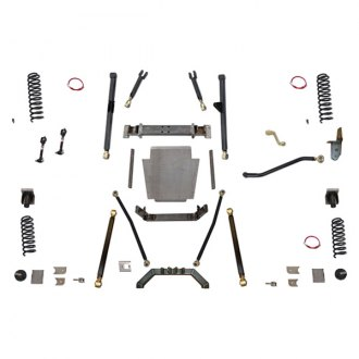 "Clayton Off Road® - 6.5"" x 6.5"" Front and Rear Long-Travel Suspension Lift Kit"