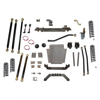 "Clayton Off Road® - 6.5"" x 6.5"" Pro Series 3 Link Front and Rear Long-Travel Suspension Lift Kit"