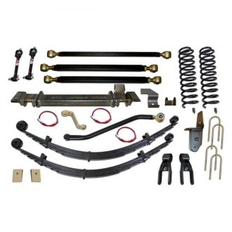 "Clayton Off Road® - 8"" Pro Series 3 Link Front Suspension Lift Kit"
