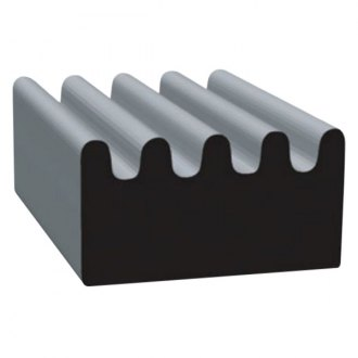 Clean Seal® - Ribbed Type Door Window Channel Seal