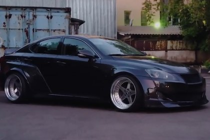 Clinched Flares® Widebody Lexus (Full HD)
