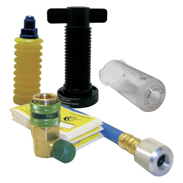 Cliplight® - A/C Dye Injector with 10 Applications and Hose