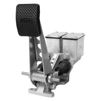CNC® - Floor Mount Dual Cylinder Brake Pedal Assembly