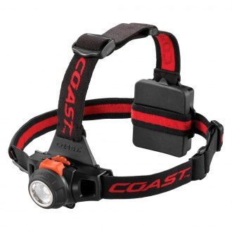 Coast Cutlery® - Focusing LED Headlamp with Removable Top Strap