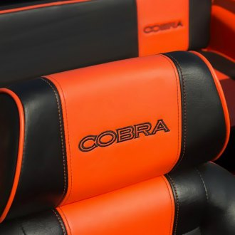 Cobra Seats® — Classic CS Soft Vinyl with Headrest Race Seat