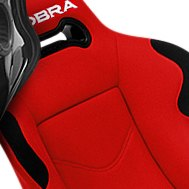 Cobra Seats® — Daytona Red Spacer Fabric Race Seat