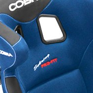 Cobra Seats® — Ultralite Carbon Blue Spacer Fabric Race Seat