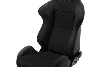 Cobra® DAY-S-BK - Daytona Black Spacer Fabric Race Seat
