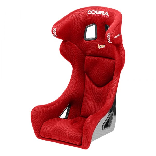 Cobra Seats® - Ultralite Carbon Red Spacer Fabric Race Seat