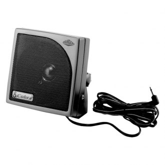 Cobra® - Highgear External CB Speaker