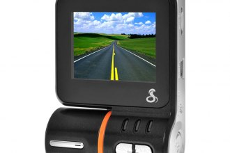 Cobra® - Professional Grade HD Dash Camera with LCD Screen and GPS