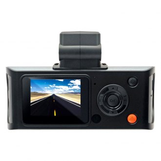 "Cobra® - 118 Degrees Professional Grade HD Dash Camera with 1.5"" LCD Screen and GPS"