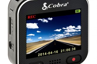 "Cobra® - 160 Degrees Professional Grade HD Dash Camera with 2"" LCD Screen"