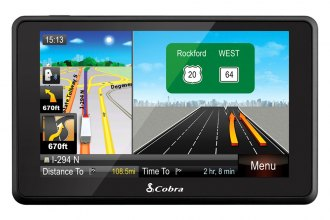 "Cobra® - 5"" Professional Navigation With Live Traffic and Lifetime Map Updates"