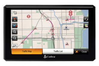 "Cobra® - 7"" Professional Navigation With Live Traffic and Lifetime Map Updates"