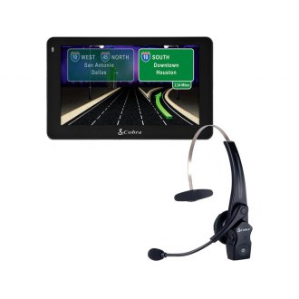 Cobra® - Navigation with Bluetooth Headset Bundle