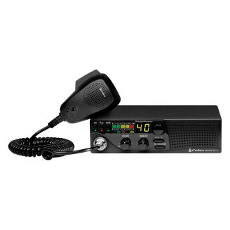 Cobra® - Compact CB Radio with Weather and Soundtracker