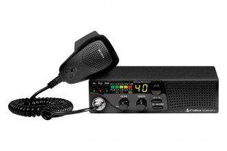 Cobra® - 18 WX ST II Compact CB Radio with Weather and Soundtracker