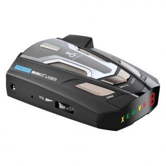 Cobra® - Maximum Performance Radar/Laser Detector With UltraBright Data Display