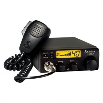 Cobra® - 40 Channel Compact CB Radio with Illuminated Display