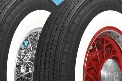 P205/75R14 - COKER® American Classic Bias Look Wide Whitewall Radial Tires (HD)