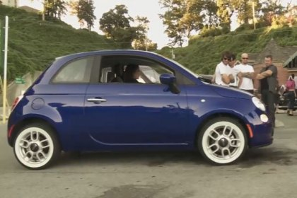 P205/75R14 - COKER® American Classic Whitewall Radial Tires for the New Fiat 500 (HD)