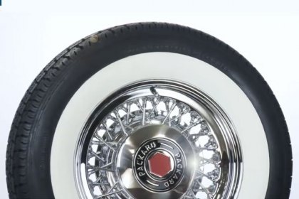 P205/75R14 - COKER® American Classic Whitewall Radial Tires (HD)
