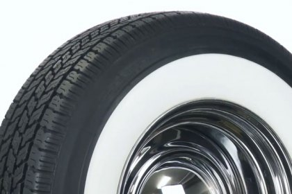 P205/75R14 - COKER® Classic Whitewall Radial Tires (HD)