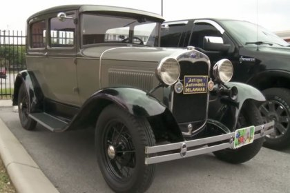 COKER® Model A Restorers Club National Tour Visit Coker Tire Company (HD)