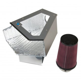 Cold Air Inductions® - Elite Series Cold Air Intake System with Red Filter