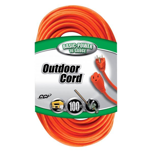 Coleman Cable® 02309 - 100\' 16-Gauge Wire 3 Conductor Outdoor ...