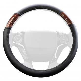 Coleman® - Genuine Leather Steering Wheel Cover